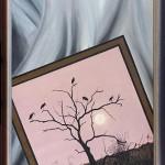 Kép a képben | 50x70 cm | olaj, kasírozott vászon
