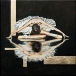 Balettáncos | 40x40 cm | olaj, vászon