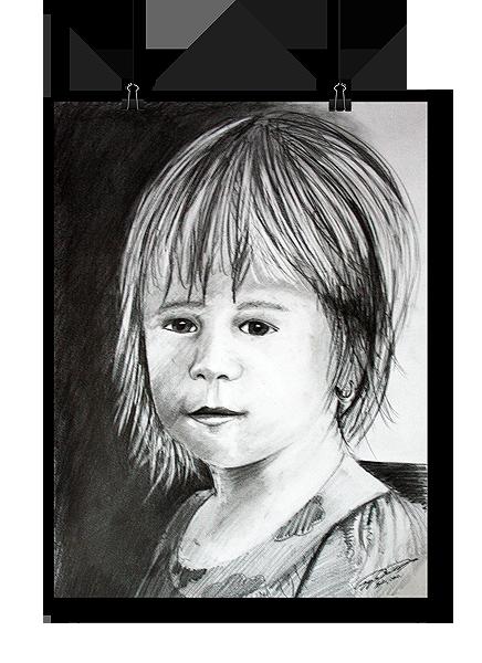Portré rajzolása fotó alapján